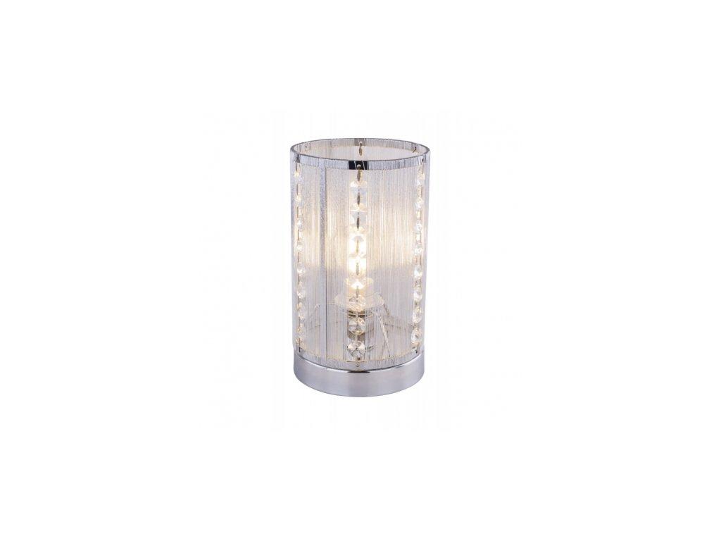Stolní svítidlo s křišťály WALLA 15091T