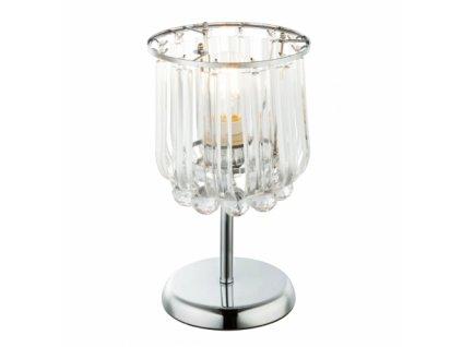 Stolní svítidlo s křišťály MINNESOTA 15303T