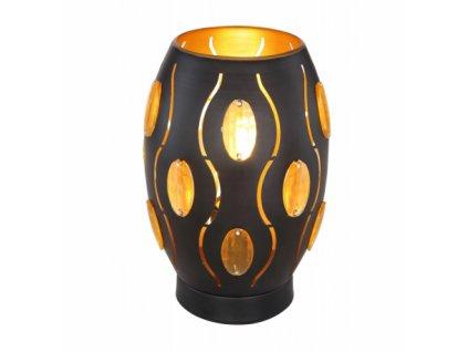 Stolní svítidlo s křišťály NARRI 24006S