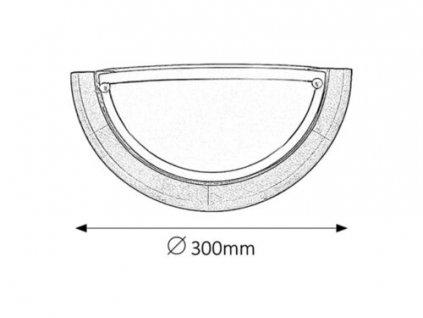 Nástěnné svítidlo Ufo 5407