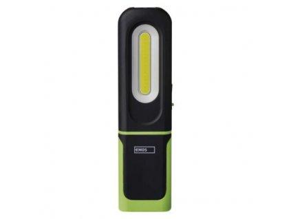 COB LED + SMD LED nabíjecí svítilna P4537, 330 lm, 1200 mAh