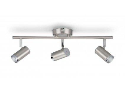 LED bodové svítidlo Philips Espimas 50137/11/P1 3x4.3W chromové