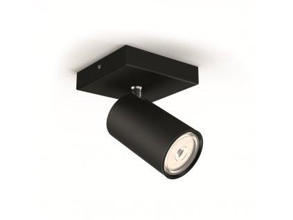 Bodové svítidlo Philips Kosipo 50591/30/PN černé 1x max.10W