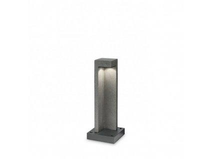 Ideal Lux LED Venkovní sloupek Titano PT1 small granito 157856 49cm IP55