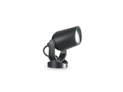 Venkovní bodové zapichovací svítidlo Ideal Lux Minitommy PT Nero 3000K GU10 1x6W IP66 černé