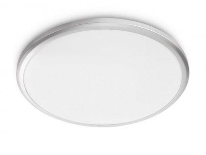 LED Koupelnové stropní a nástěnné svítidlo Philips SPRAY CL260 8718699777319 12W 1200lm 2700K IP44 28,7cm stříbrné