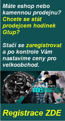 Velkoobchod hodinek Gtup Olomouc