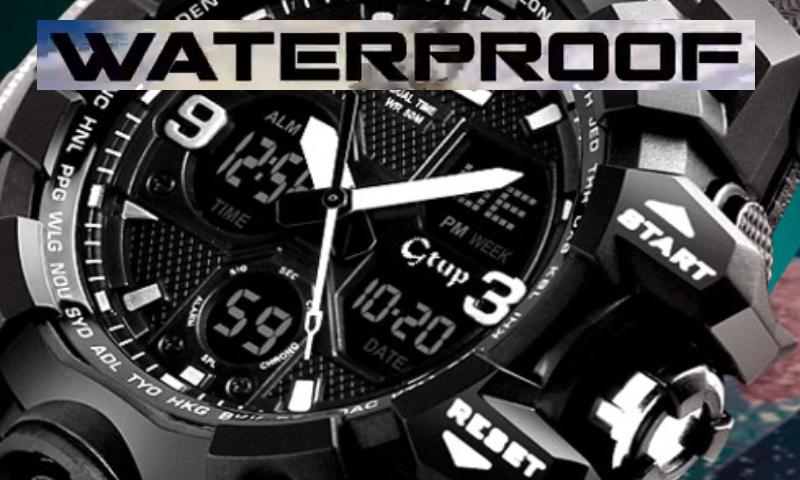 Sportovní hodinky Gtup 1050 black