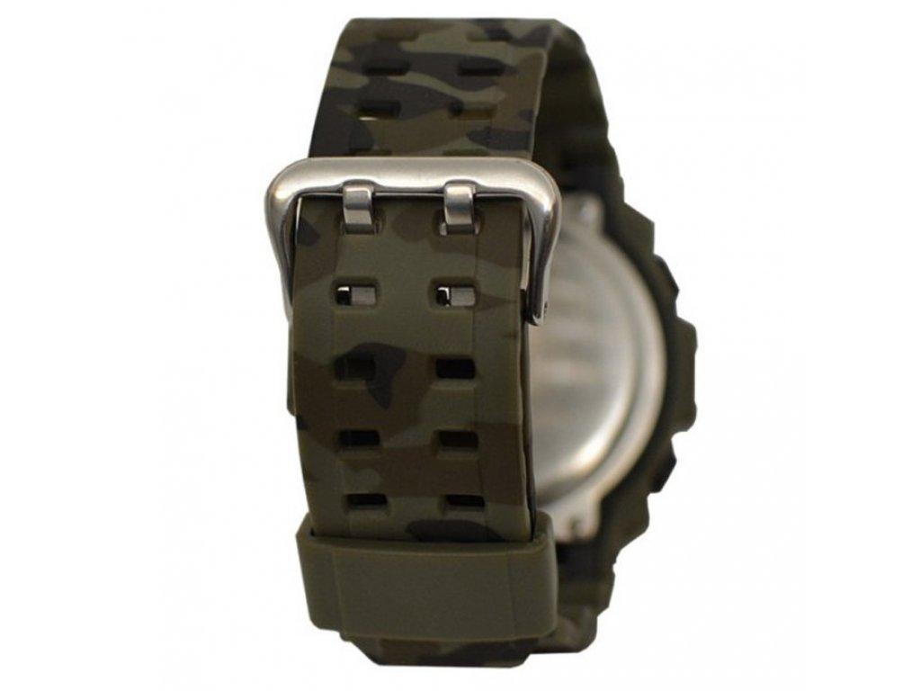 dfaa86eba ... panske sportovni odolne vodotesne hodinky gtup 1040 vojenske khaki  digitalni ...
