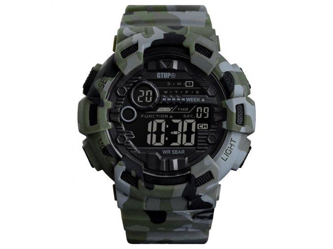 panske digitalni hodinky maskovane vojenske army khaki gtup 1180
