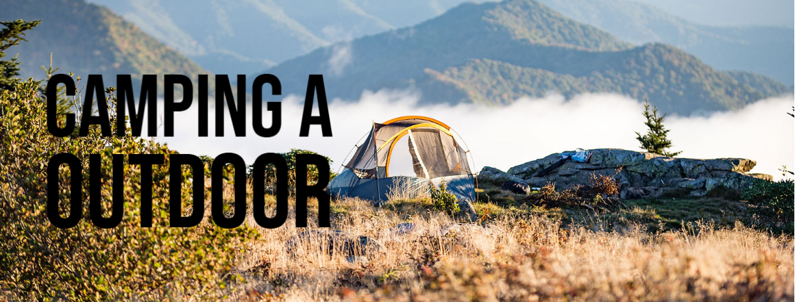 Camping a outdoor