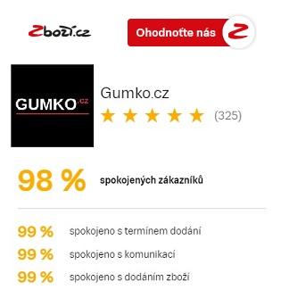 Hodnocení Gumko.cz na Zboží.cz