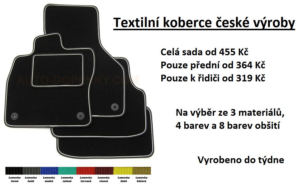 Textilní koberce - Gumko.cz