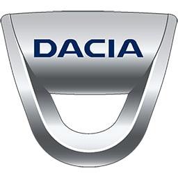 Gumové koberce zadní střední přes tunel Dacia