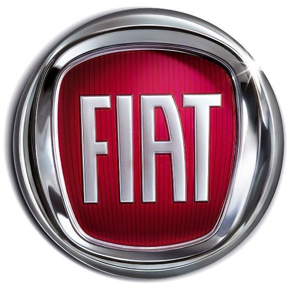 Gumové koberce zadní střední přes tunel Fiat