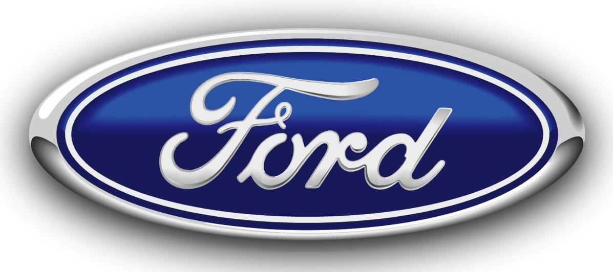 Gumové koberce zadní střední přes tunel Ford