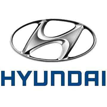 Gumové koberce zadní střední přes tunel Hyundai