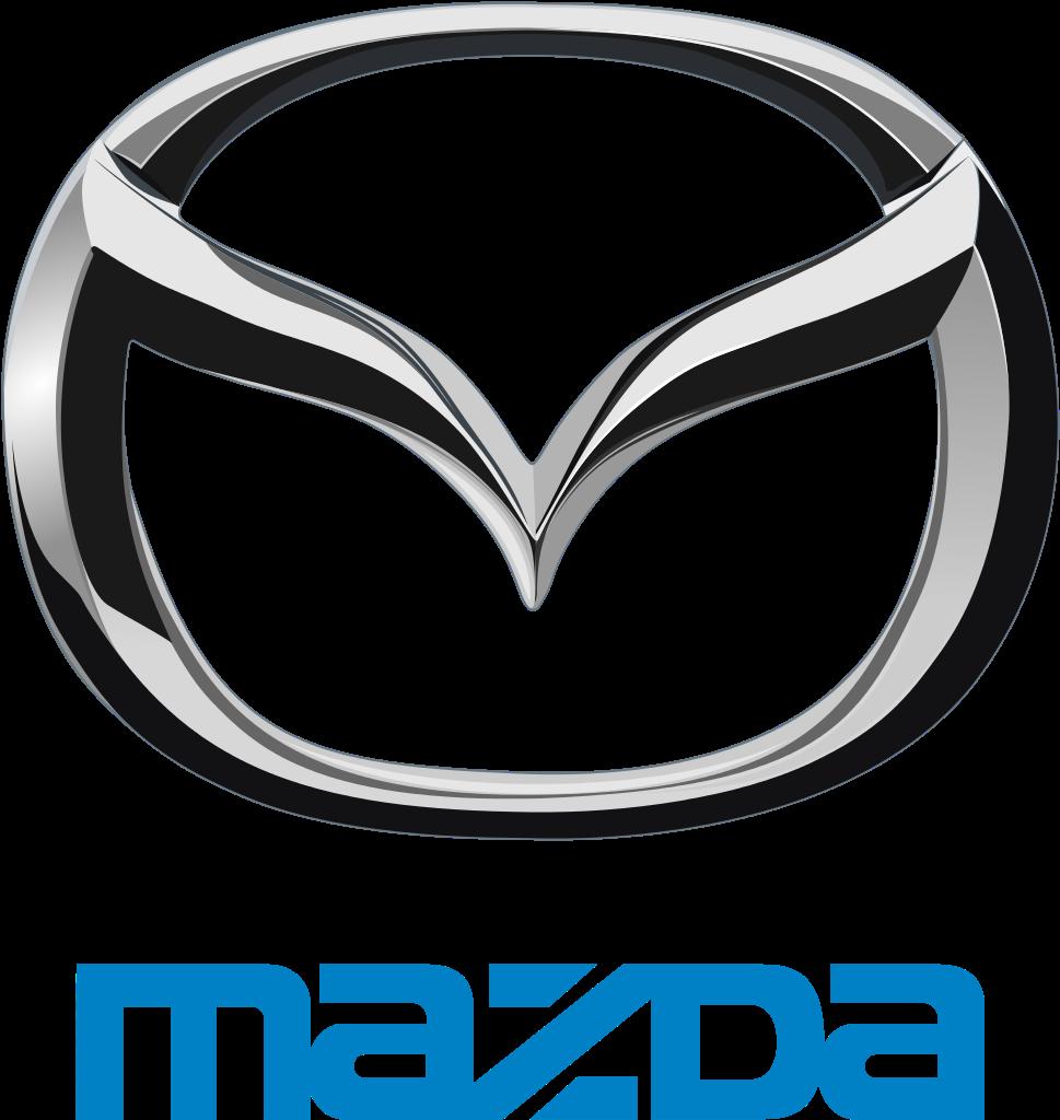 Gumové koberce zadní střední přes tunel Mazda