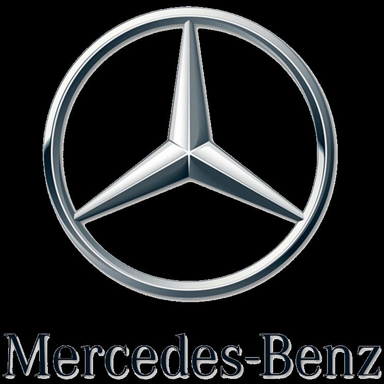 Gumové koberce zadní střední přes tunel Mercedes