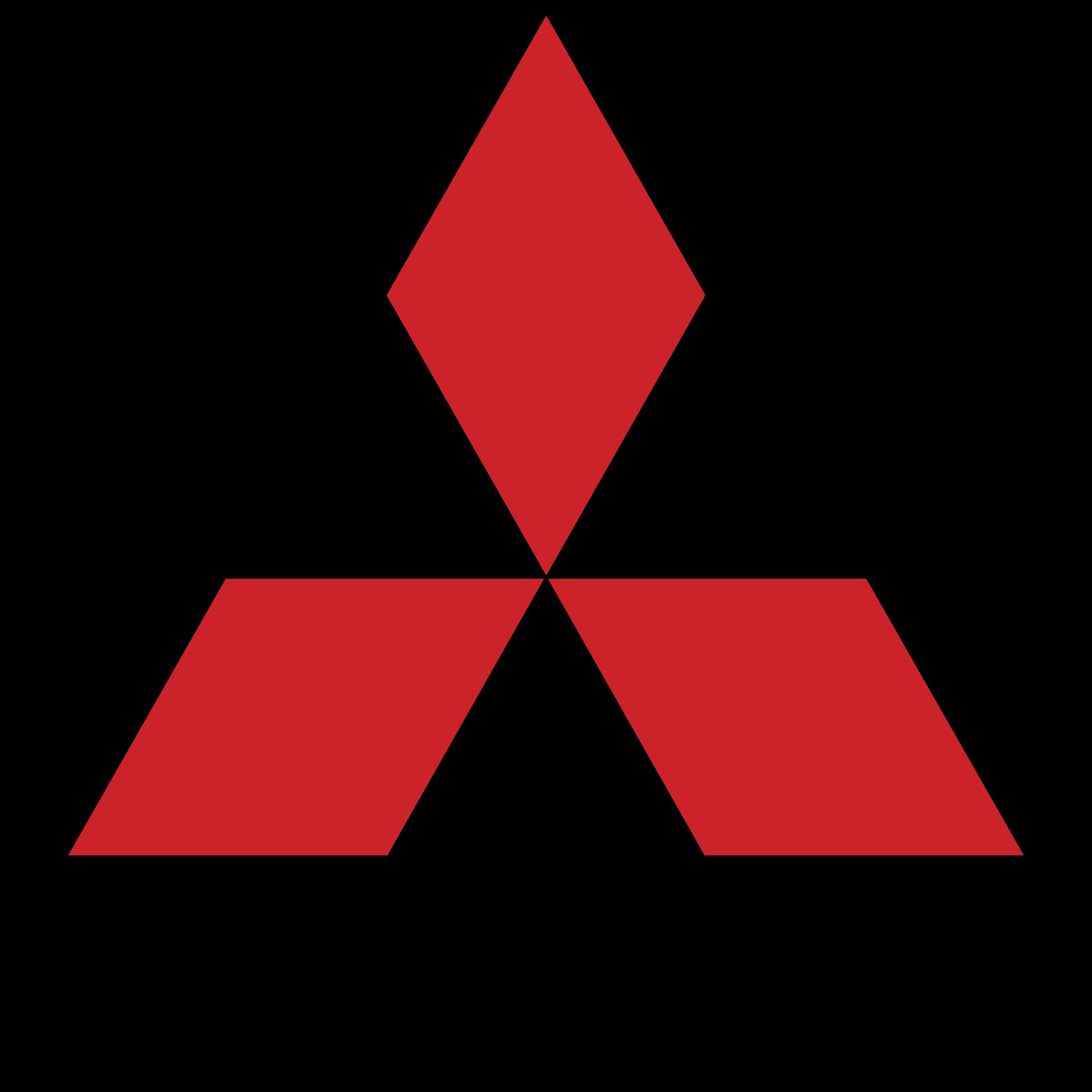 Gumové koberce Mitsubishi zvýšený okraj