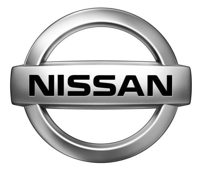 Gumové koberce zadní střední přes tunel Nissan