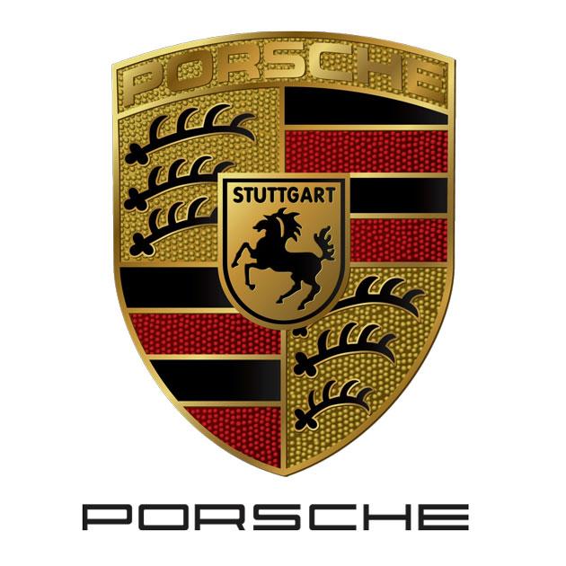 Gumové koberce Porsche zvýšený okraj