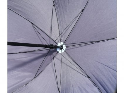 Slunečník skládací TERST 180cm šedý
