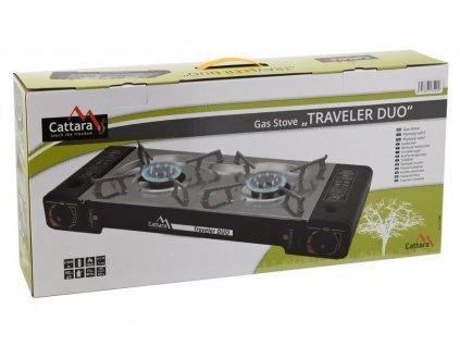 Plynový vařič Traveler DUO