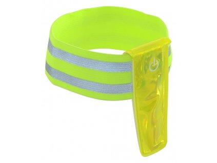 Pásek reflexní 4LED na ruku
