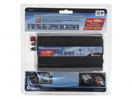 Trafo 12/230V 550W + USB