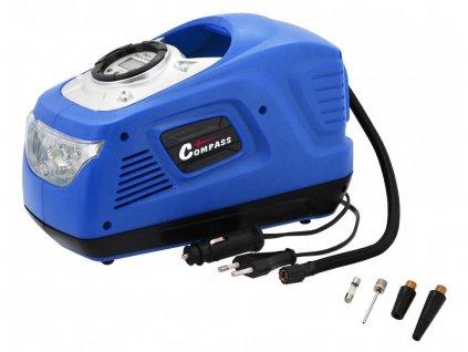 Kompresor 12/230V MAMMOTH digitální se světlem