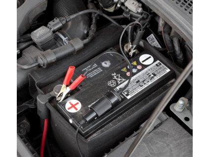 Adaptér autobaterie - zásuvka 12/24V