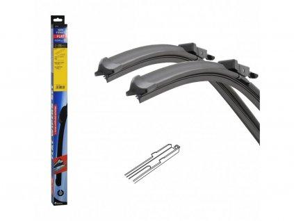 Stěrače FLAT SET (SLOT) 660+610mm