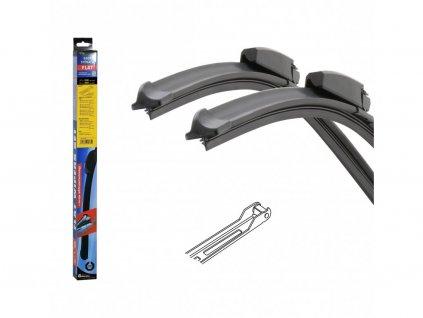 Stěrače FLAT SET (JOINT) 550+550mm