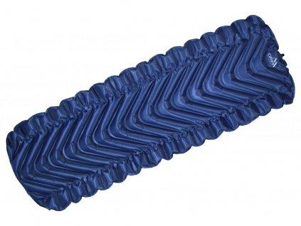 Karimatka nafukovací TRACK 185x61cm modrá