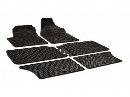 Gumové autokoberce Seat ALHAMBRA (1996-2009) - 6 dílů