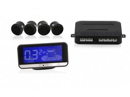 Parkovací asistent 4 senzory, LCD display