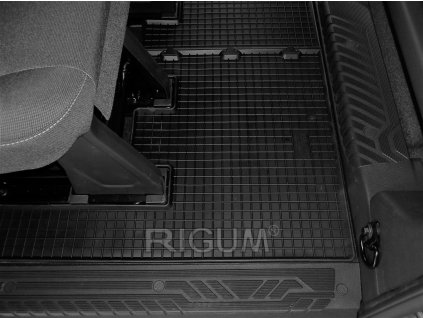 Gumové koberce Ford CUSTOM 2.řada 2012-