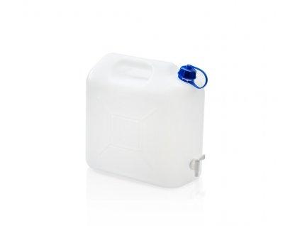 Kanystr na pitnou vodu 15 L s kohoutkem