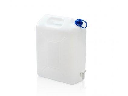 Kanystr na pitnou vodu 20 L s kohoutkem