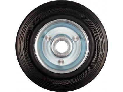 Kolečko gumové černé 130kg 160/39mm prům.20x55mm