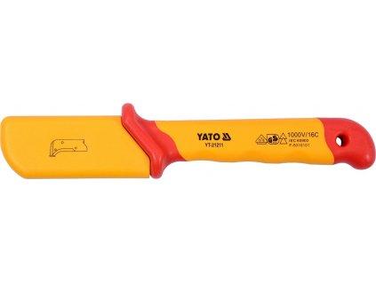 Izolovaný nůž elektrikářský 38 x 155 mm VDE
