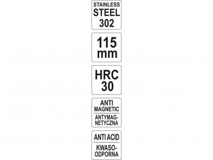 Pinzeta 115 mm (zahnutá)