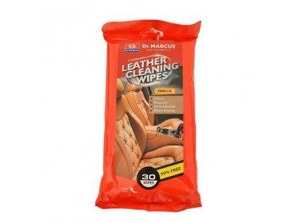 DM LEATHER CLEANING 30ks - čistící ubrousky na kůži