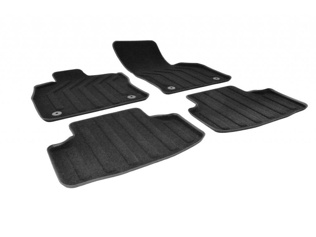 Gumárny Zubří 3D PREMIUM textilní koberce VW GOLF VII 2012-