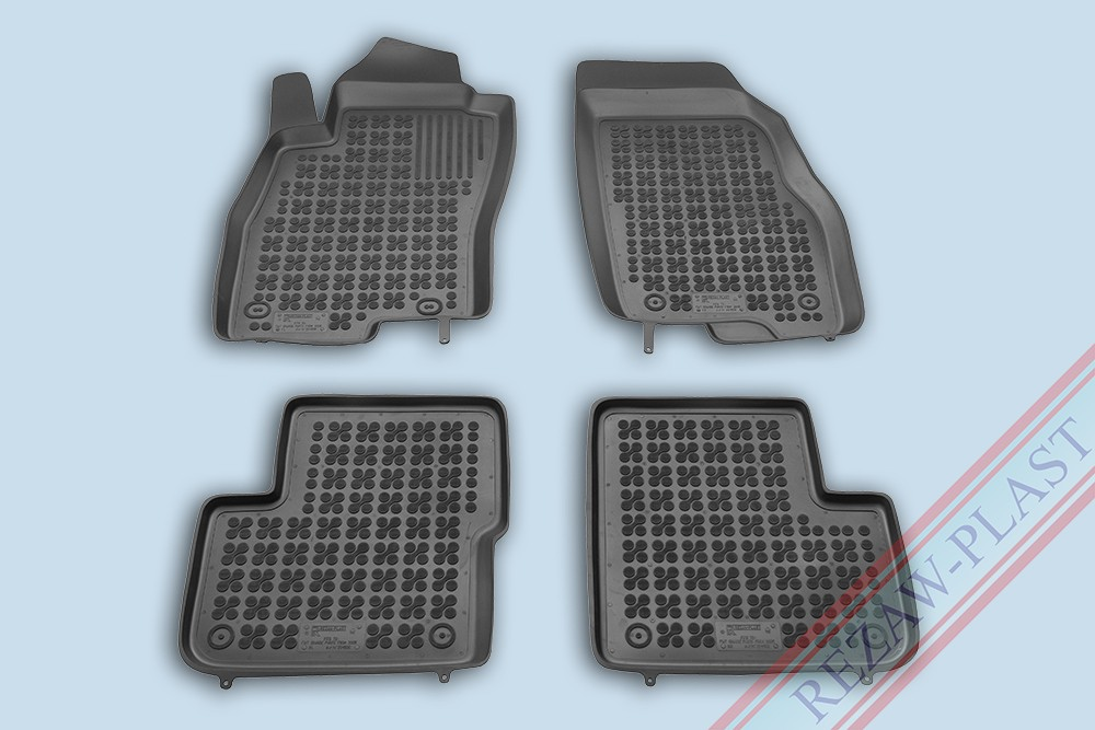 Rezaw Plast Gumové koberce Fiat GRANDE PUNTO 2005- se zvýšeným okrajem