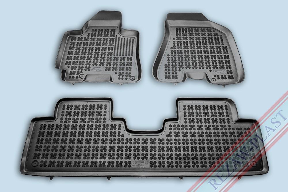 Rezaw Plast Gumové koberce Hyundai TUCSON 2004-2010 se zvýšeným okrajem