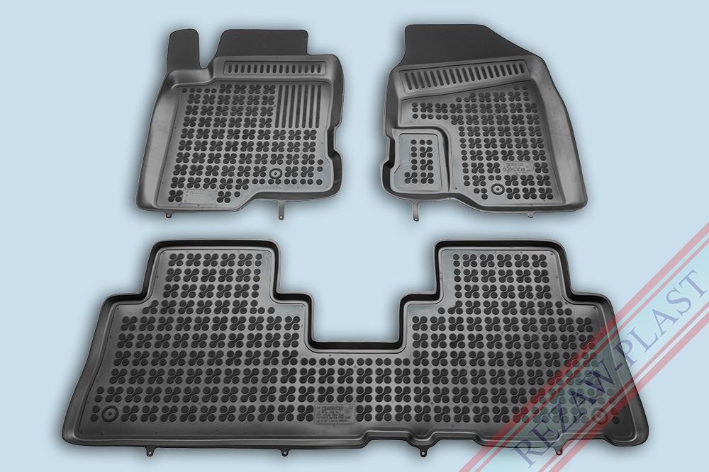 Rezaw Plast Gumové koberce Chevrolet CAPTIVA 2006- se zvýšeným okrajem
