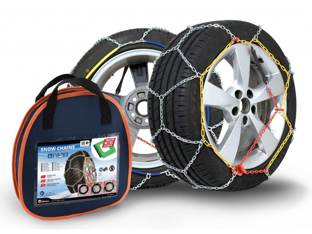 Compass Sněhové řetězy WINTER ÖNORM X60 nylon bag