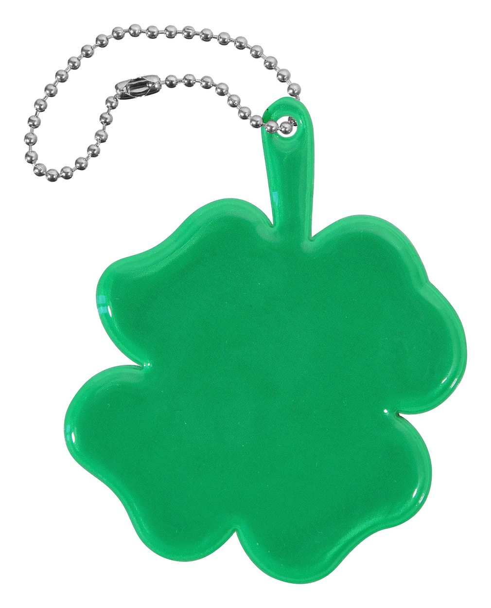 Compass Přívěšek reflexní ČTYŘLÍSTEK - zelený